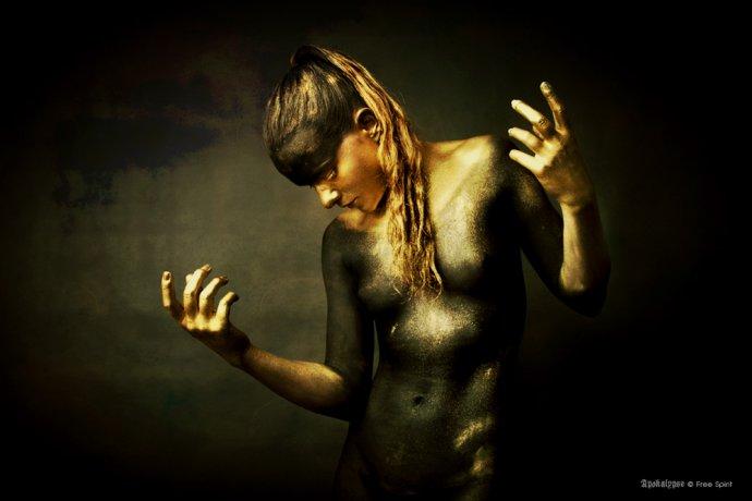 Blue shadow fine art photographer and Creative Director