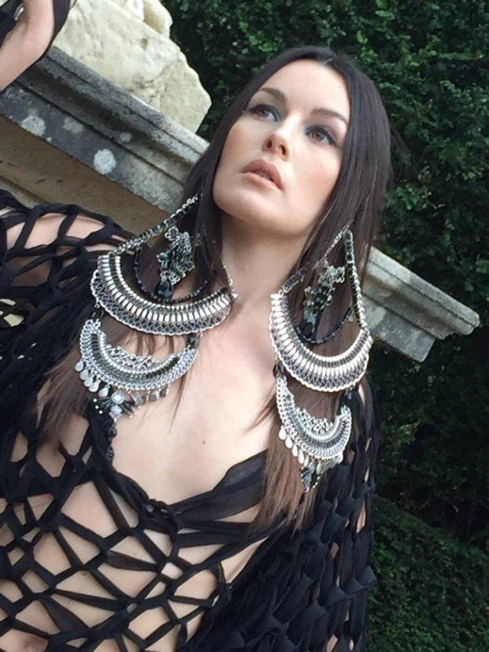 Free Spirit Blue Shadow fine art photographer fashion design photoshoot Paris